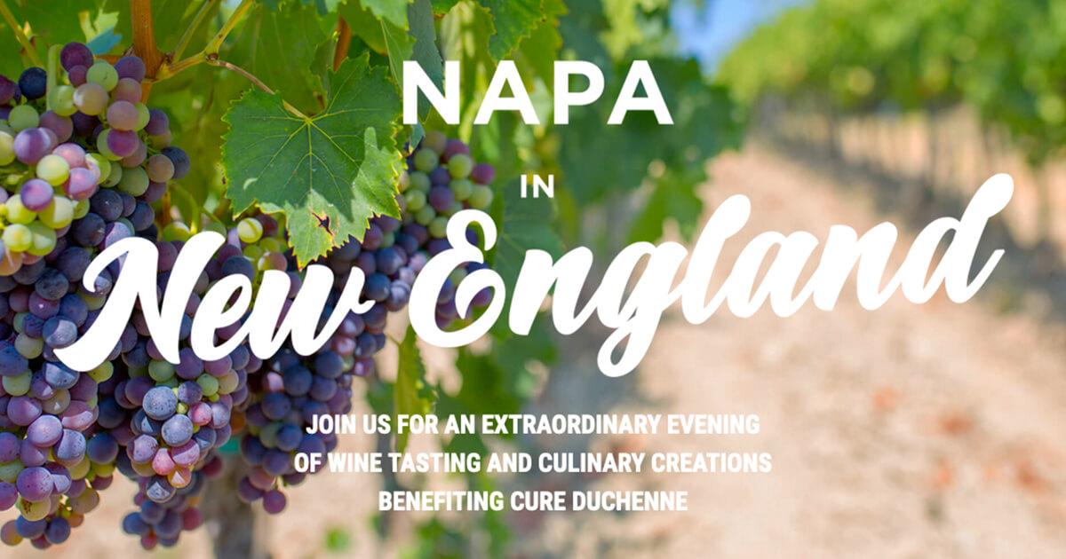 Napa In New England 2019 - CureDuchenne
