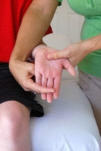 Duchenne Finger Extension Stretch