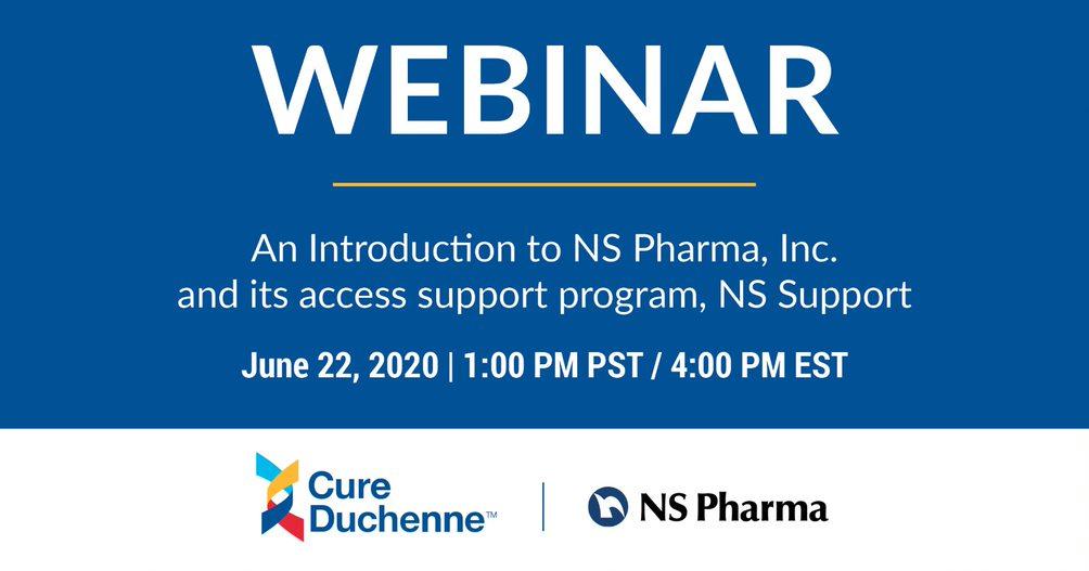 NS Pharma - Webinar Header